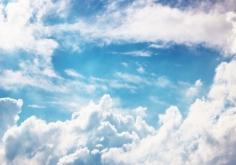 그리스도의 승천 후 하늘의 광경